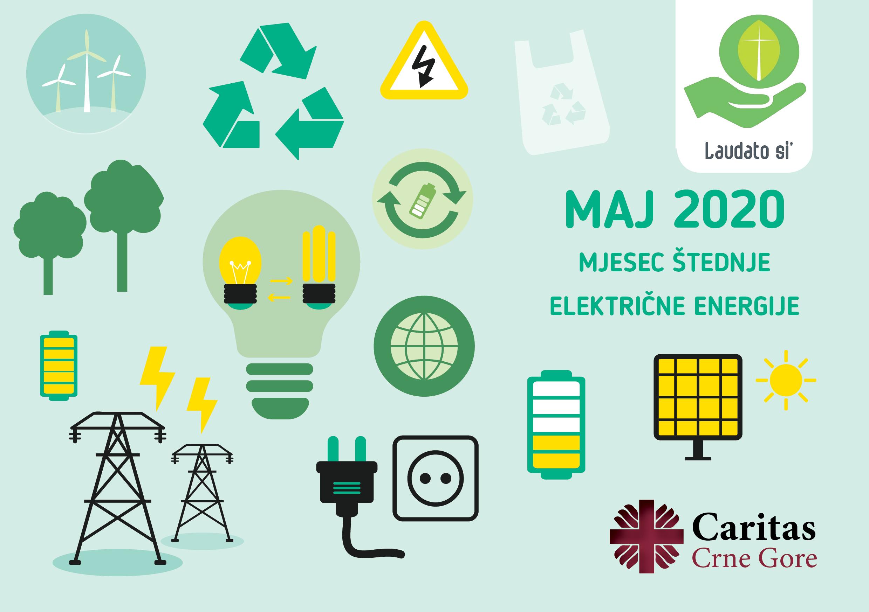 Uputstva za Mjesec štednje električne energije (Maj 2020.)