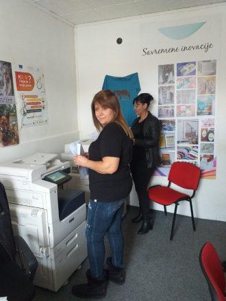 """Projekat """"Cjeloživotno učenje"""" realizuje Opština Berane u saradnji sa svojim projektnim partnerom d.o.o. Mondo Bianco – PJ Script Berane"""
