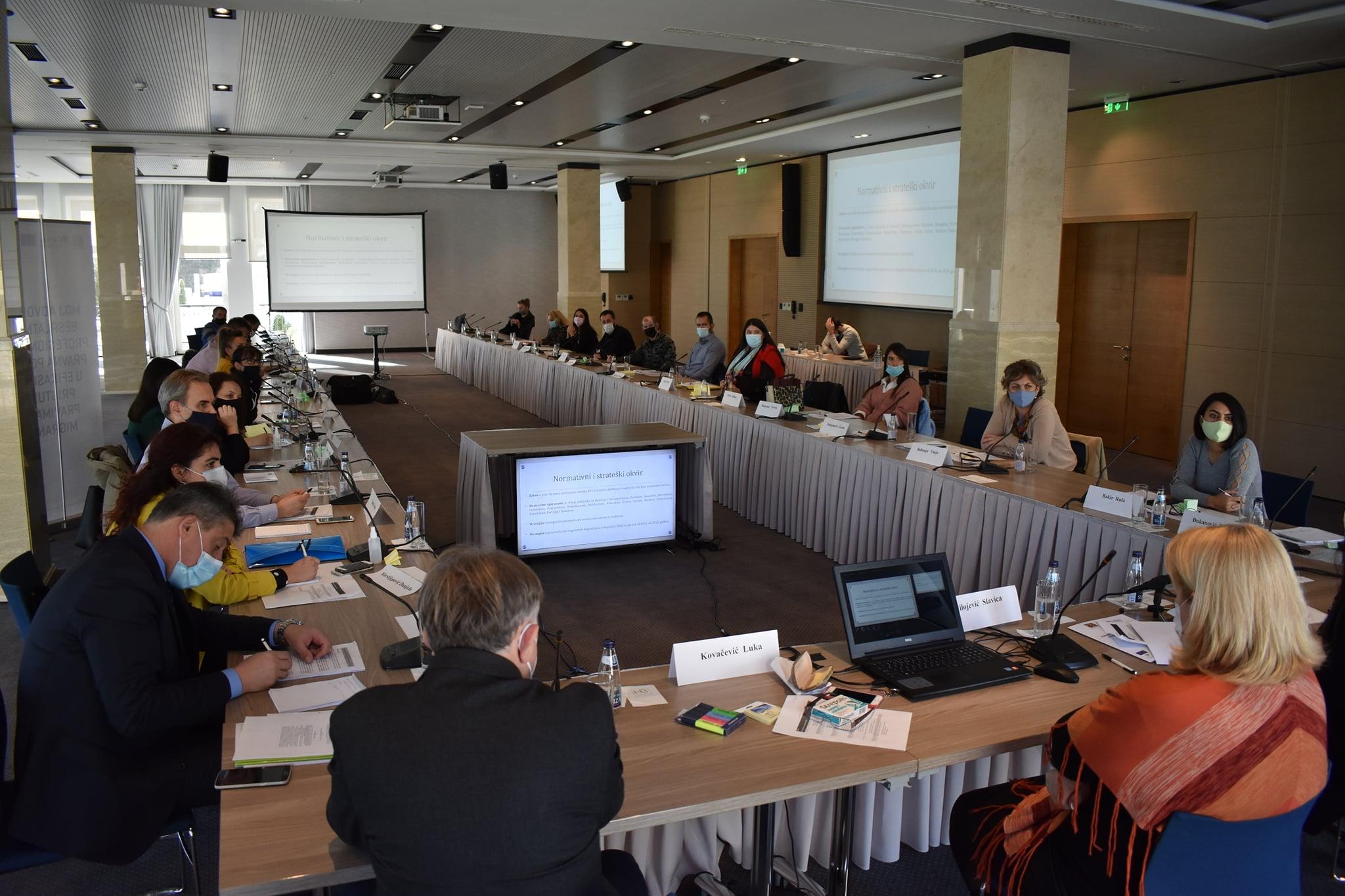 """Seminar """"Proces reintegracije povratnika po sporazumima o readmisiji u Crnoj Gori"""""""