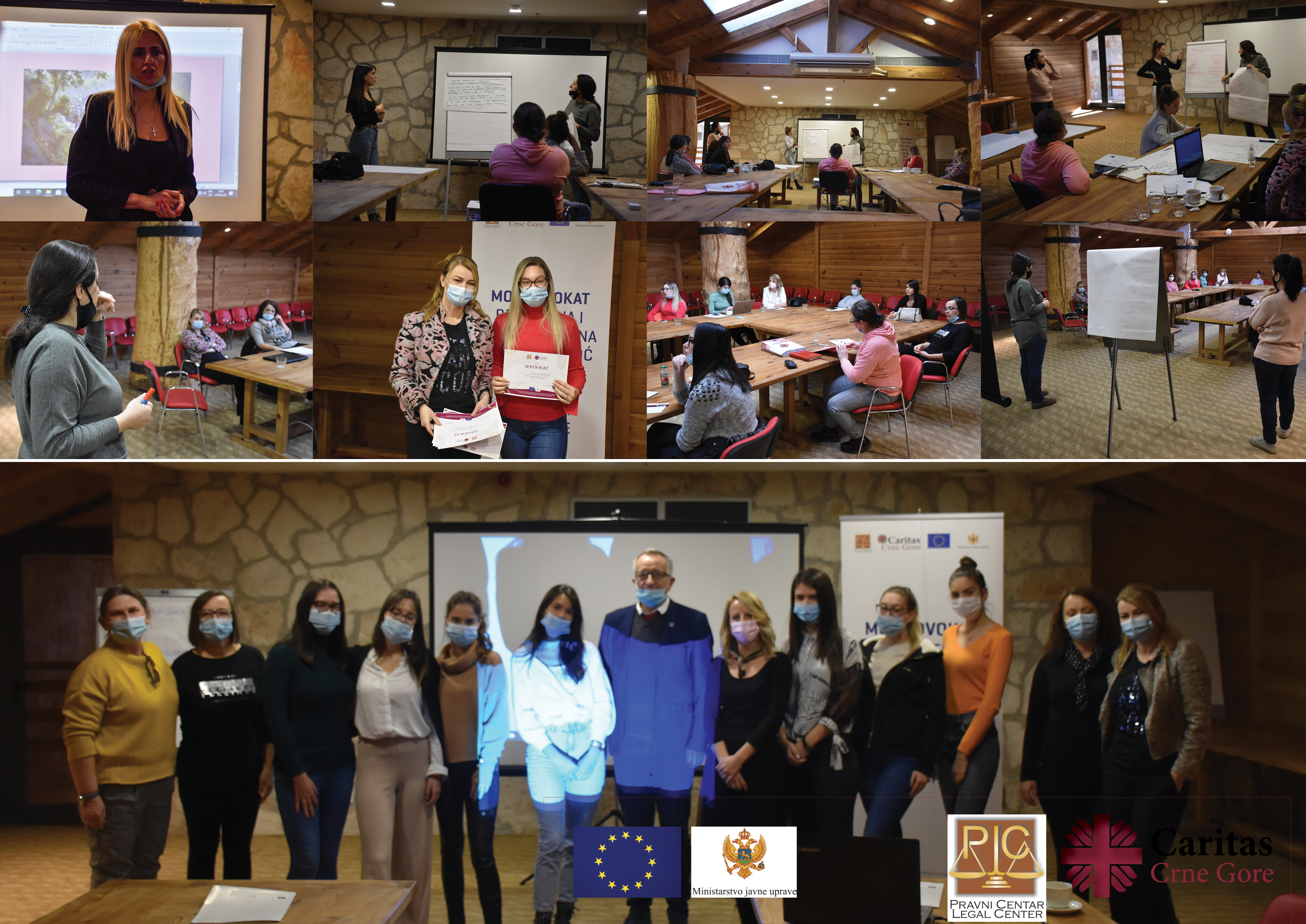 Caritas održao trening za volontere za rad sa migrantima