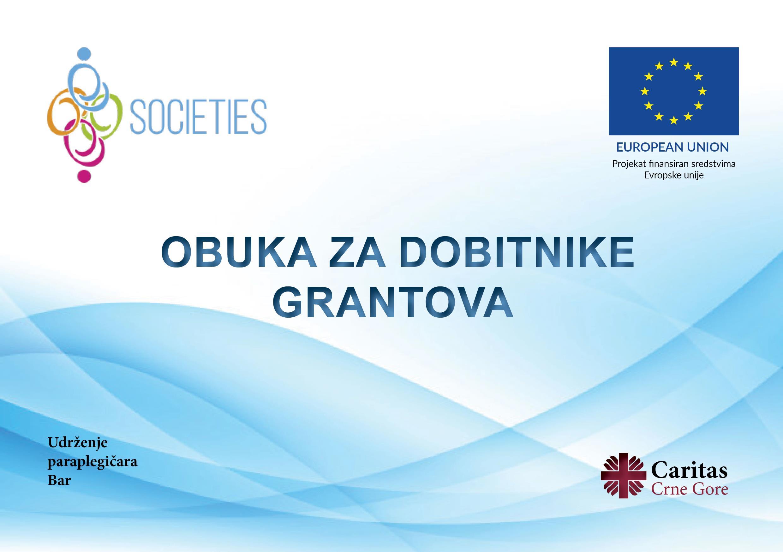 Caritas Crne Gore održao Obuku za dobitnike malih grantova