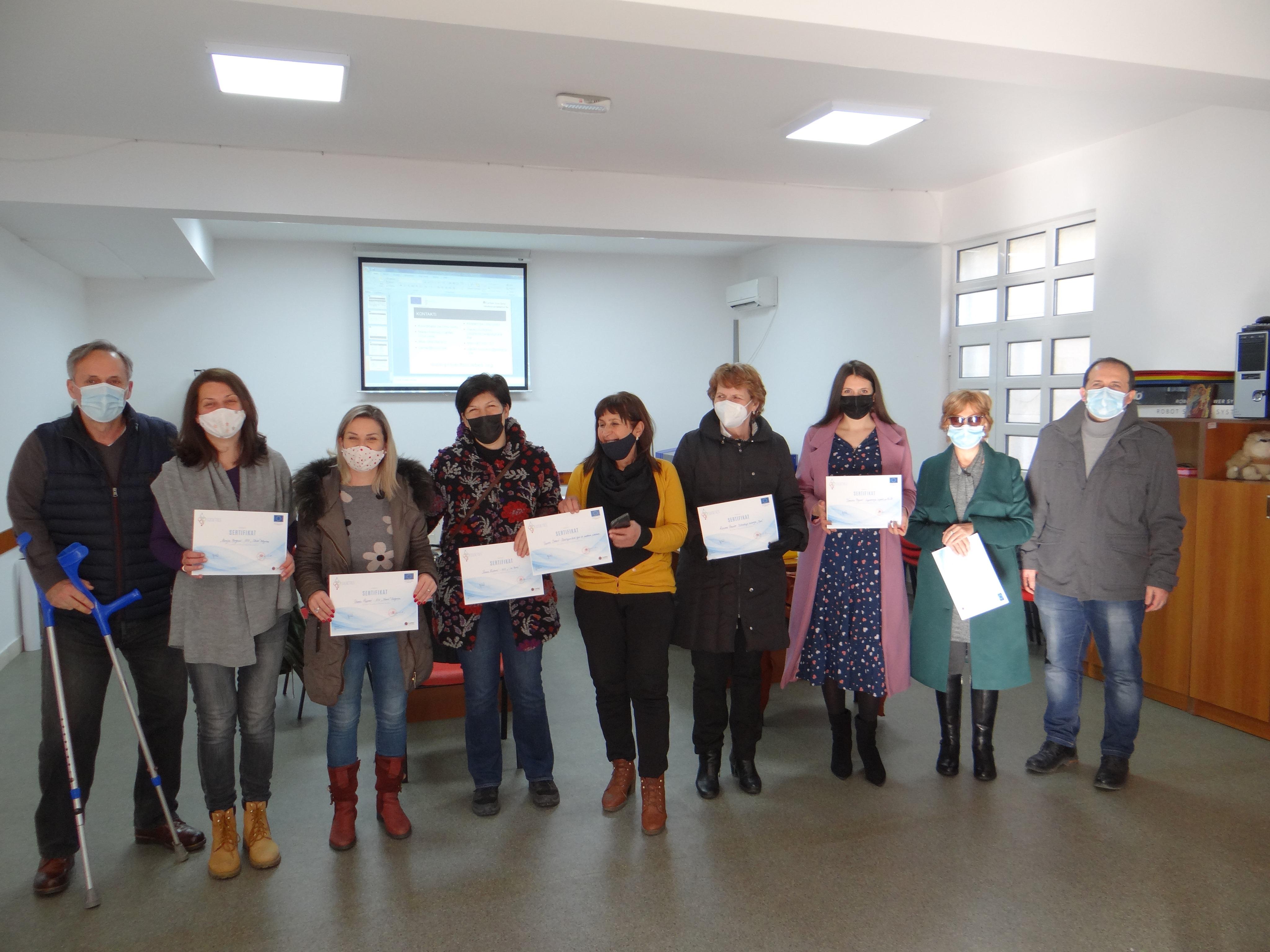 Caritas Crne Gore održao drugi trening za finansirane projekte