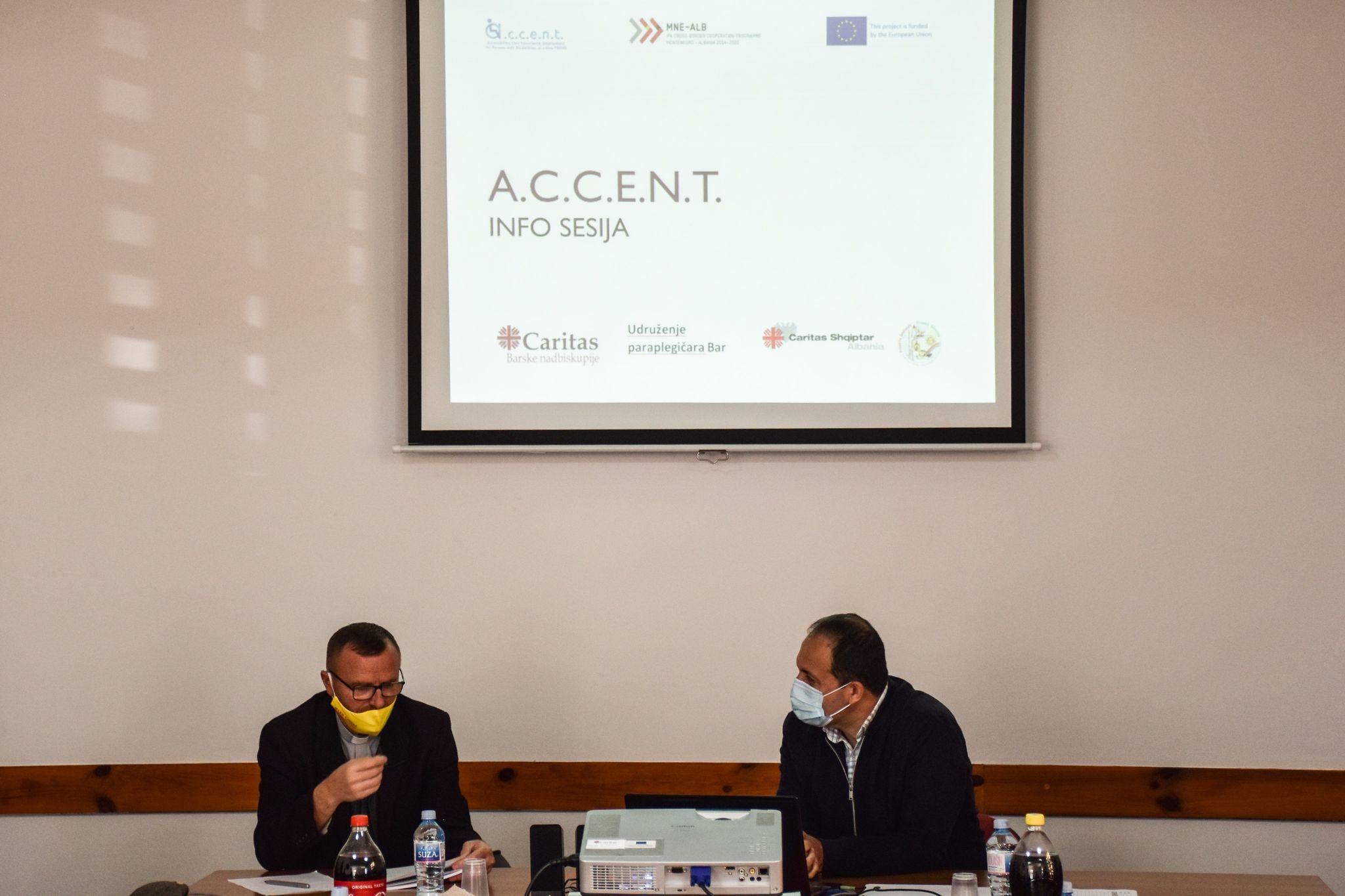 Predstavljen novi projekat A.C.C.E.N.T – Pristupačnost, građanska savijest, zapošljavanje osoba sa invaliditetom, kao novi trend